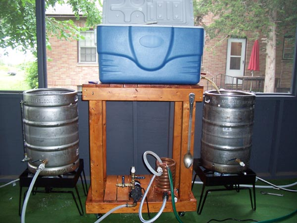 Mikebeer Homebrewing 10 Gallon All Grain System